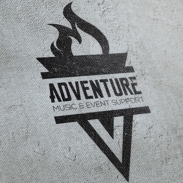Logo ontwerp Adventure Music & Event Support