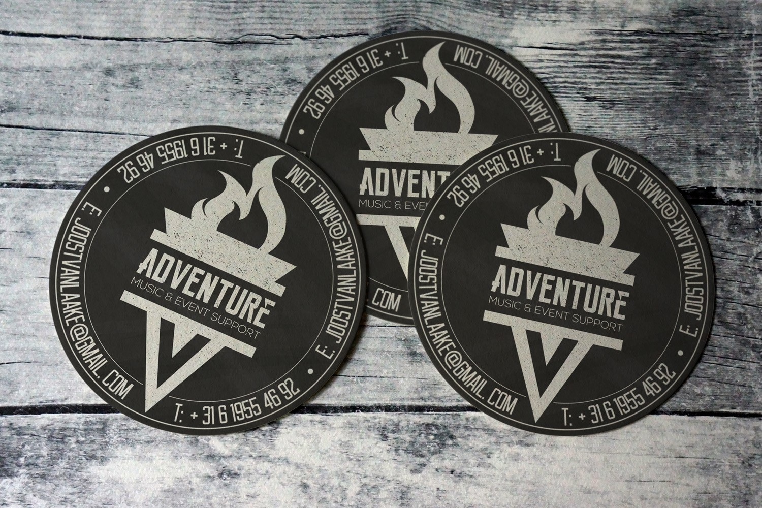 Adventure Music Event Support – Stickers