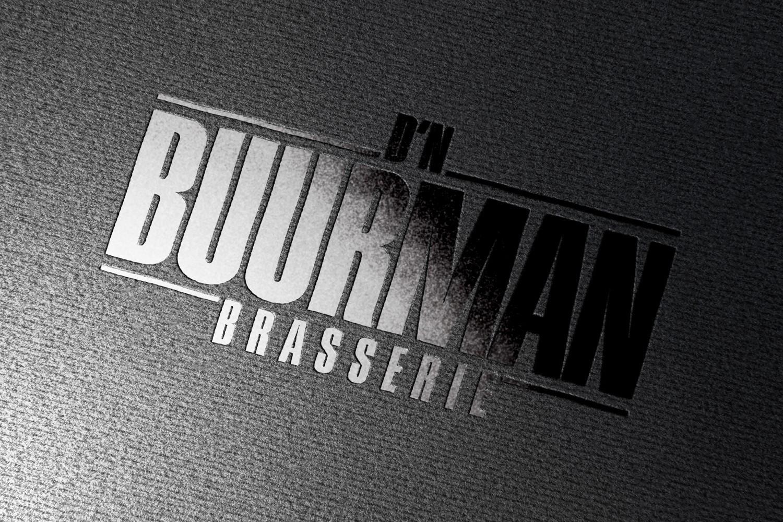 Brasserie D'n Buurman Mill – Logo