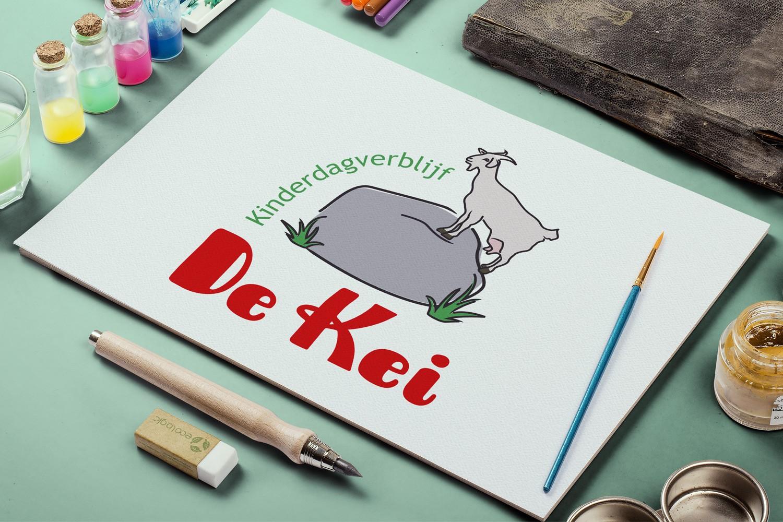 Kinderdagverblijf De Kei – Logo