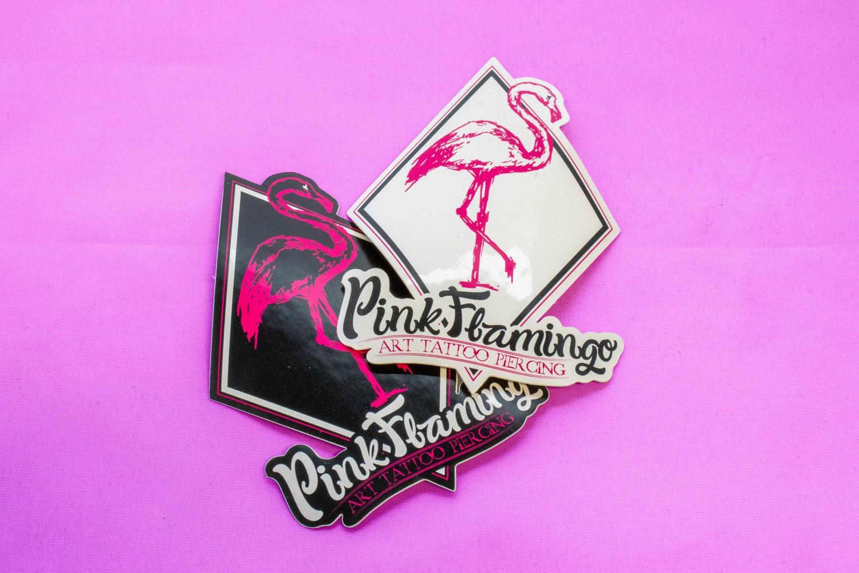 Pink Flamingo – Stickers