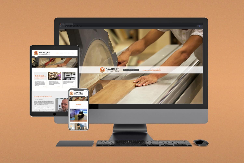 Swartjes Interieurbouw – Website