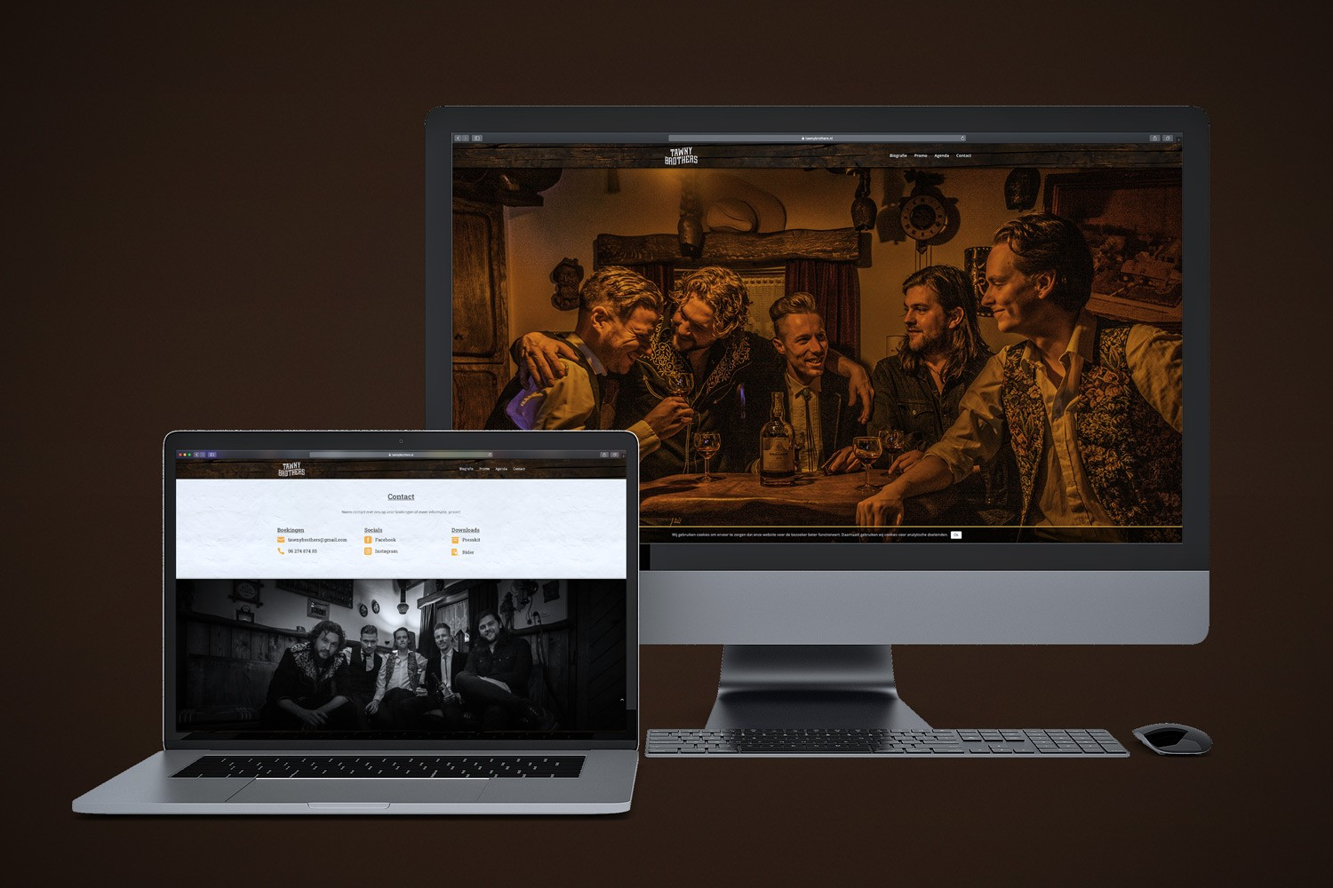 Tawny Brothers – Website