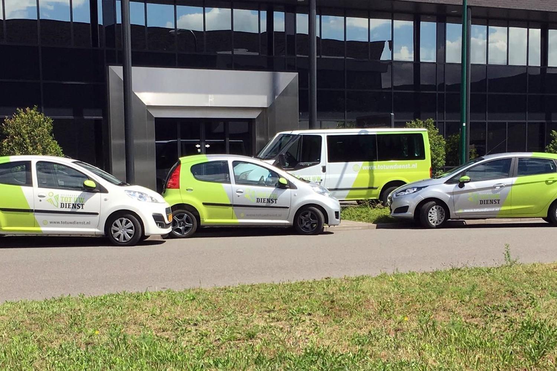 Tot Uw Dienst – Carwrapping
