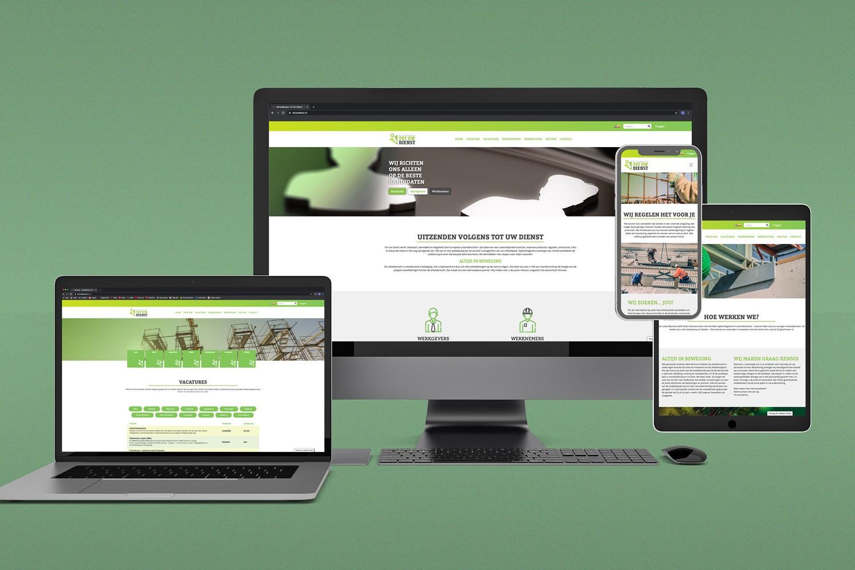 Tot Uw Dienst – Website
