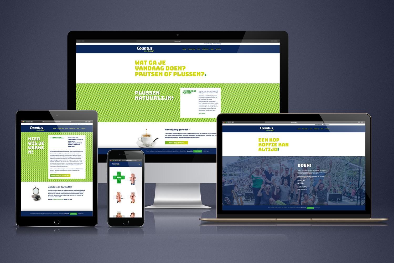 Countus – Website – plusdedag.nl
