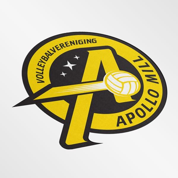 Logo ontwerp vereniging Mill door Equalizer
