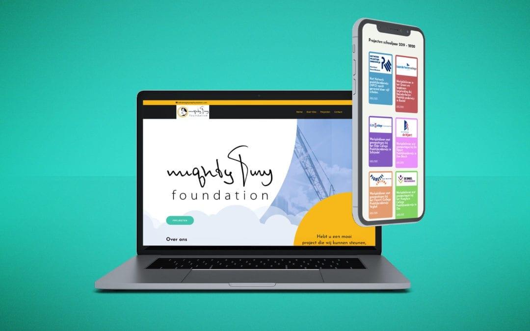 Mighty Tiny Foundation – Website