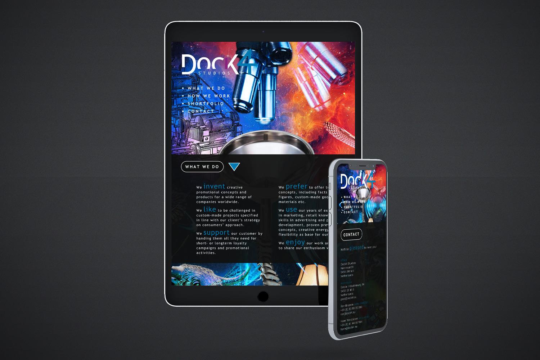 Dock4 – Website