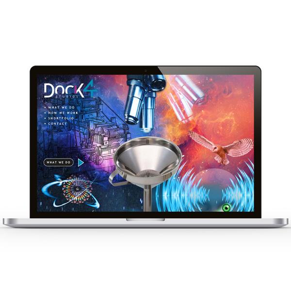 Dock4 website