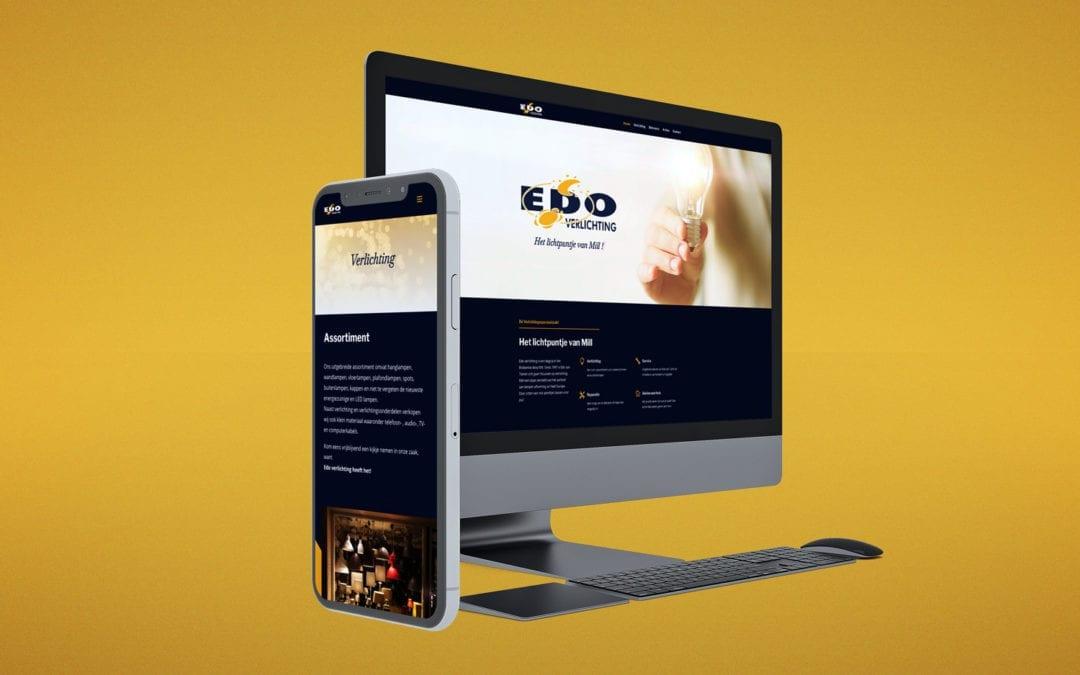Edo Verlichting – Website