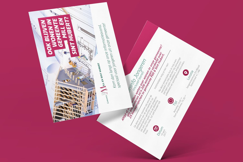 Gemeente Mill & Sint-Hubert – Flyer