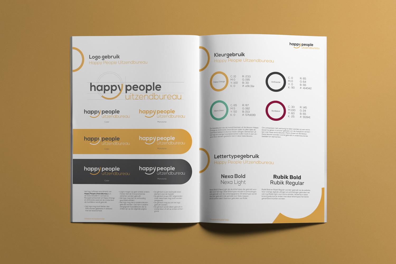 Happy People Uitzendbureau – Brand guide