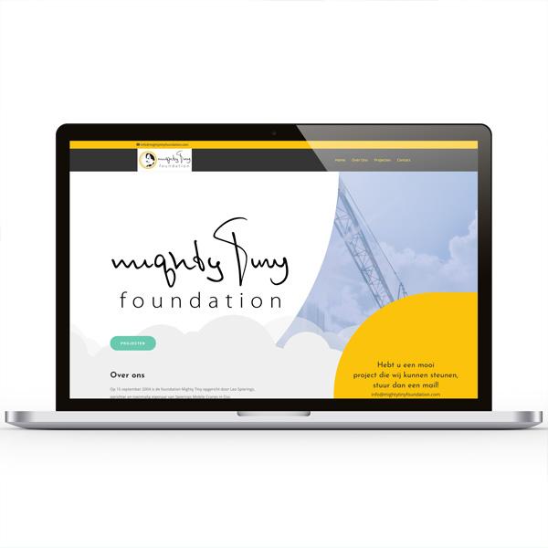 Website Mighty Tiny