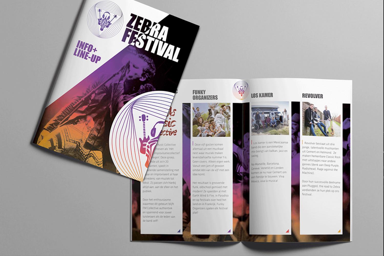 Zebra Festival – Programmaboekje