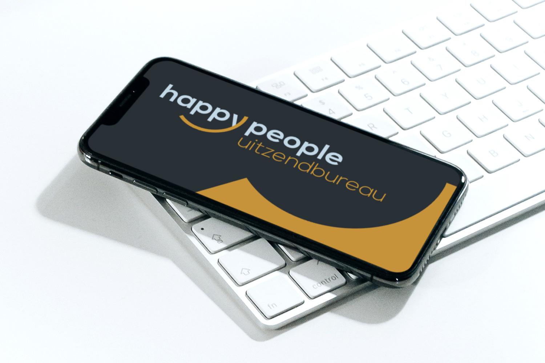 Happy People Uitzendbureau – Logo