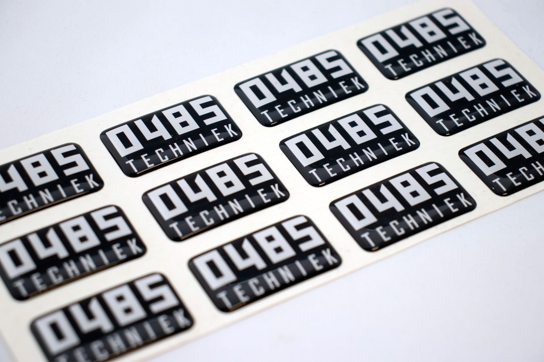 0485 TECHNIEK – stickers