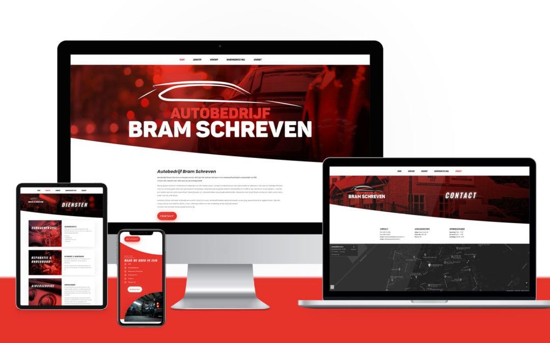 Bram Schreven – Website