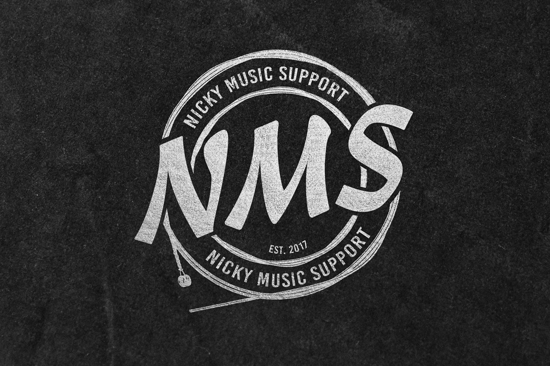 Nicky Music Support – Logo