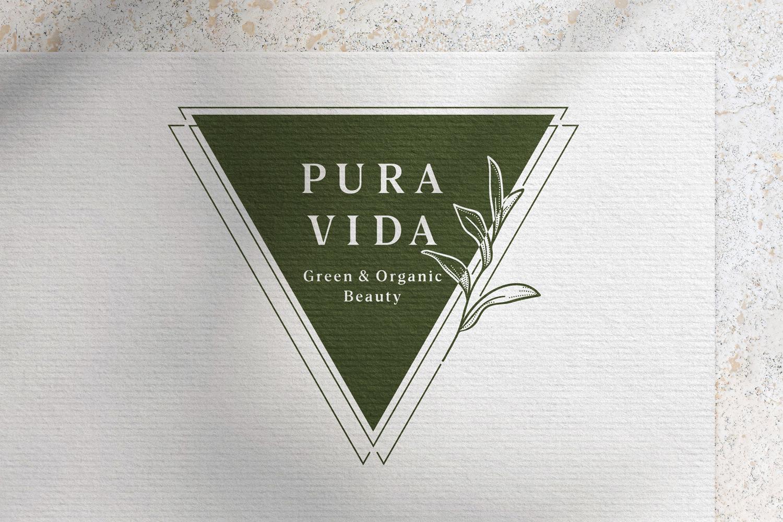 Pura Vida – Logo Ontwerp