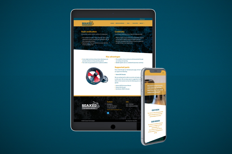 Soaked Technologies – Website