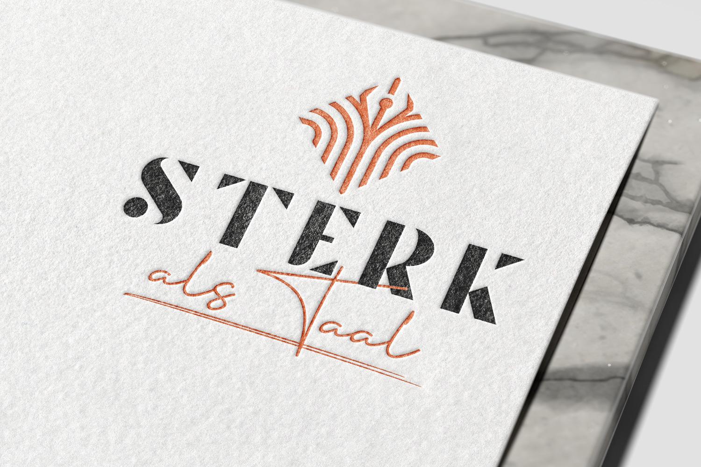 Sterk Als Taal – Logo Ontwerp