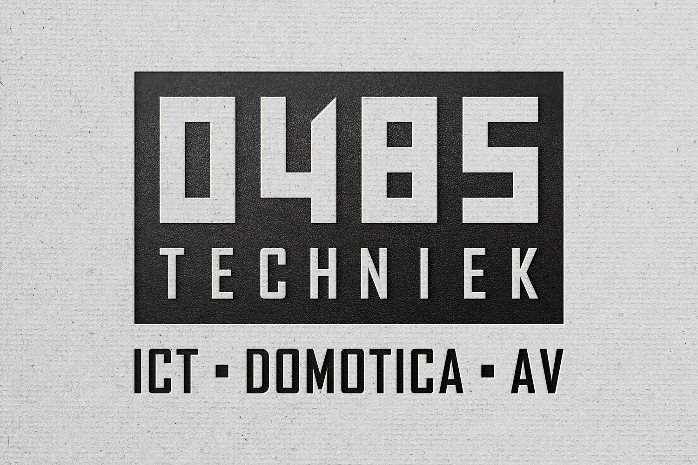 0485 Techniek – Logo ontwerp