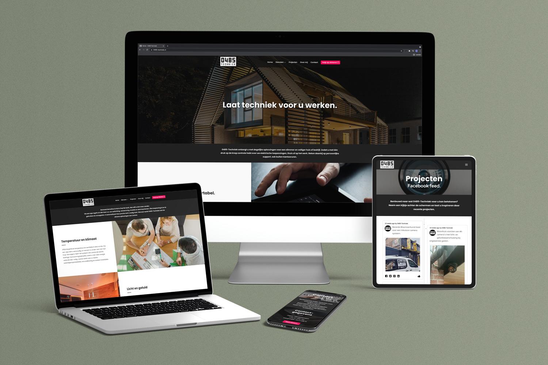 0485 Techniek – Website