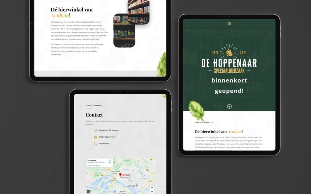 De Hoppenaar Arnhem – Website